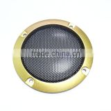 "Perforated Red Plastic speaker cover,3"" speaker grille,speaker accessories,free shipping for sampels"
