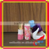 Empty lipstick tube with metal core for paper tube with custom printed cardboard tube