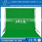 New design photography equipment 3x3m pure cotton green screen muslin digital photo studio background fabric backdrop