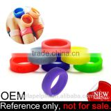 novelty cheap fashion rubber o custom finger silicone wedding ring