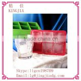 Large Ice Cube Tray - 2 Pack - 2 Inch Cubes Keep Your Drink Chilled For Hours Without Diluting It - Lifetime Guarantee