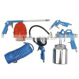 DIY most popular garage tool air compressor basic 5pcs spray gun kit K5-S