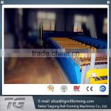 Cold Roll Forming Iron Roof Tile Double Layer Profile Sheet Making Machine reached quality acceptance standards