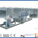 continuous spray glass bottle pasteurizer
