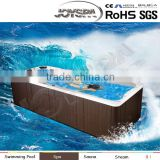 Factory direct price for Acrylic swim spa in ground swimming pool with hot tub control panel