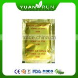 Manufacturer of 100% Natural healthcare detox foot patch/detox foot patch/bamboo vinegar detox slimming foot patch