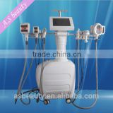 650nm laser 1000W RF+ BIO + 2*40 K cavitation + vacuum + IR + BIO velashape body shape beauty machine