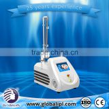 Portable Scar Removal RF Sun Damage Recovery 0.1-2.6mm Co2 Fractional Laser Machine Skin Resurfacing Mole Removal