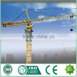 China building construction suppliers Tip tower crane TC5079 height 50m