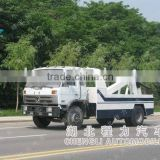 Dongfeng 185hps road wrecker vehicle sale