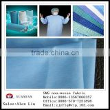 Medical used SS pp non-woven fabrics Used in The hospital surgical clothing, disposable bed sheets, masks, etc