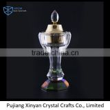 Colorful crystal chinese incense burner antique CC008