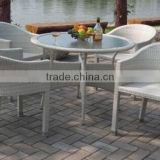 Outdoor Patio Wicker Furniture 5PC Modern Dining Set(outdoor rattan lounge rattan daybed sofa set(BF10-R62)