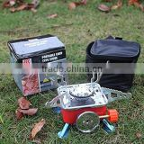 Portable Collapsible Backpacking Butane Gas Stove Camping Picnic Burner Outdoor