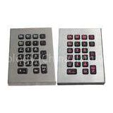 IP65 dynamic desktop vandal proof industrial  military backlight pc keyboards/keypads with industria