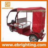 motor drived electric passenger auto rickshaw with CE certificate