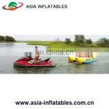 Water Toys Crazy Giant Inflatable Water Park Flying Banana Boat Fly Fish Towables