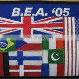 Premium Quality Hand Embroidered Flag, England Flag, USA Flag, Brazil Flag, Pakistan Flag, Italy Flag, France Flag, Finish Flag