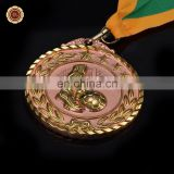 Wr Online Shopping Quality Metal Medal for Awards Collectible Soccer Game Medal with Ribbon