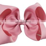 8 inch big bow wholesale hair clips girls accessories