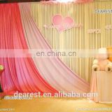 2016 beautiful ice silk Wedding Backdrop for sale 20ft*10ft