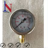 Mechanical Movement Bourdon Tube Glycerin Pressure Gauge