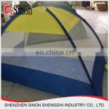 Guaranteed quality 4 person beach tent 2 doors 4 windows with mosquito net auto tent sun shade tent