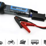 Car Jump Starter with Cable Intelligent, Car Emergency Portable Jump Starter Power Bank with big torch