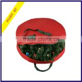 "Wholesale canvas holiday christmas wreath storage bag for 30"" wreaths                                                                         Quality Choice"
