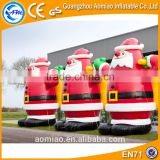 Outdoor inflatable yard decorations christmas 5m inflatable santa clause