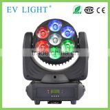 2016 Hot sales!!!ACOLOR-R6 7pcs*30w rgbw four in one led mini beam wash moving head