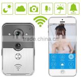 Smash Hit Newest Smart Home WiFi Video Door Phone With Android IOS App For Real-time Video Chatting Anywhere Anytime