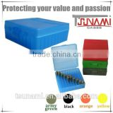 New brushed Indestructible portable plastic bullet box military ammunition case storage box blue (TB-905)