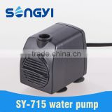 electric aquarium submersible water fountain pump for fish tank and fountain use