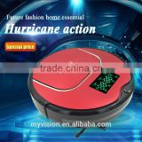 Fashionable robot vacuum cleaner with 12 sets Senser, sweeper robots with Vacuum cleaning