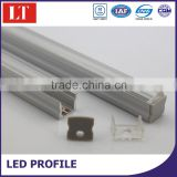 led strip profile aluminum,frosted or clear cover,end caps,clips,customized length,many type are available
