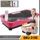 2014 New design Lose weight without exercise ultrathin vibration plate