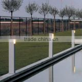 aluminum high power CE CCC SAA UL IP65 aluminum housing garden fence post led garden light outdoor 3W 85-265V