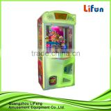 hot sale arcade toy gift machine/candy claw crane prize vending game machine