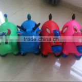 promotional pvc rider inflatable toys/Hopper animals