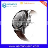 1.2GHz dual-core low-power chip Stainless steel full round wifi heart rate monitor smart watch