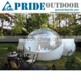Outdoor Double Tunnel Inflatable Wedding Tent Inflatable Dome Tent Round Inflatable Bubble Tent