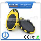 Oval 5000mah solar power bank ,solar power items waterproof solar charger                                                                         Quality Choice