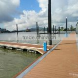 HDPE floating jetty pontoon