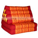 Thai traditional triangle handmade pillow ( filled with kapok)