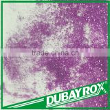 Rainbow Color Violet Glitter Hexagonal Powder for Christmas Decoration