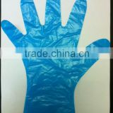 disposable LDPE blue Gloves for hair salon household industrial kitchen