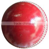 Cricket ball Red Made from Leather and Cork