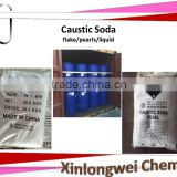 Sodium Hydroxide Caustic Soda NaOH Flake Pearls Liquid