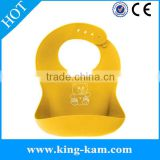 manufacturer Wholesale FDA Washable Non-toxic soft silicone waterproof baby bibs